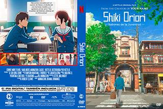 Shiki Oriori Sabores de la juventud - Cover DVD